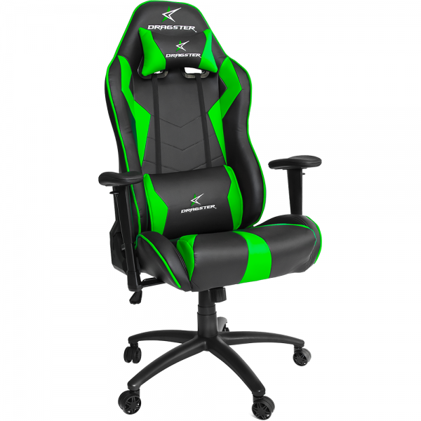 silla gamer dragster gt500 electric green verde (1)