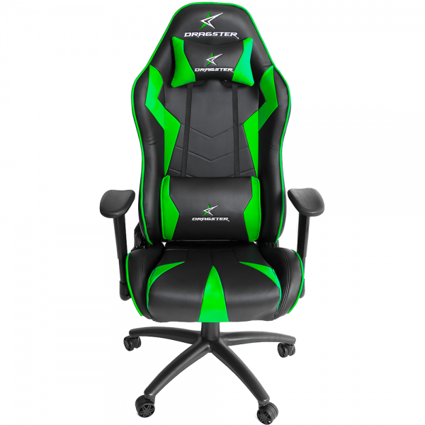 silla gamer dragster gt500 electric green verde (2)