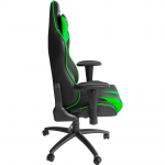 silla gamer dragster gt500 electric green verde (3)
